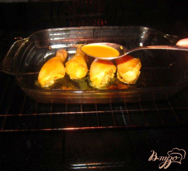 Куриные голени маринованные в соево-апельсиновом маринаде