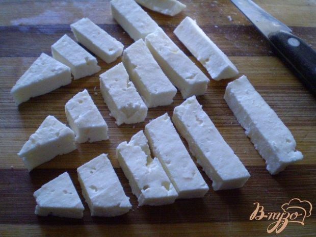 Картофель со спаржевой фасолью и сыром