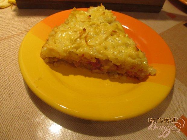 Картофельный пирог с тушенкой