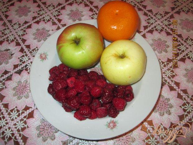 Яблочно-малиновый кисель