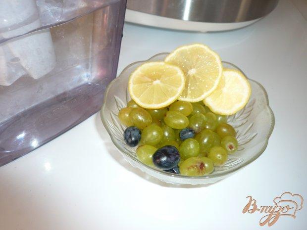 Виноградно-лимонный компот