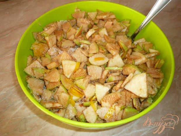Яблочное варенье с апельсином и корицей