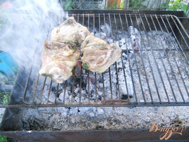 Куриные бедра в маринаде с эстрагоном