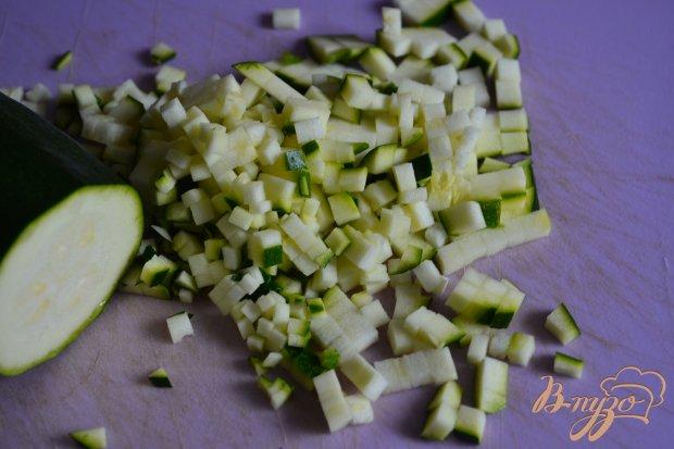 Салат-закуска  с овощами и крупой кус кус