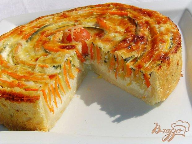 Овощной пирог «Осеннее солнце»