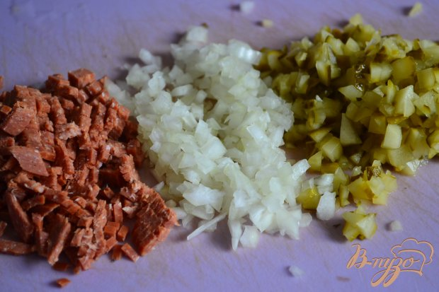 Эльзасский картофельный салат ( №2)