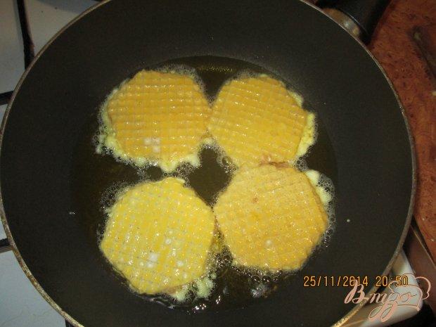 Вафельные коржи с мясом