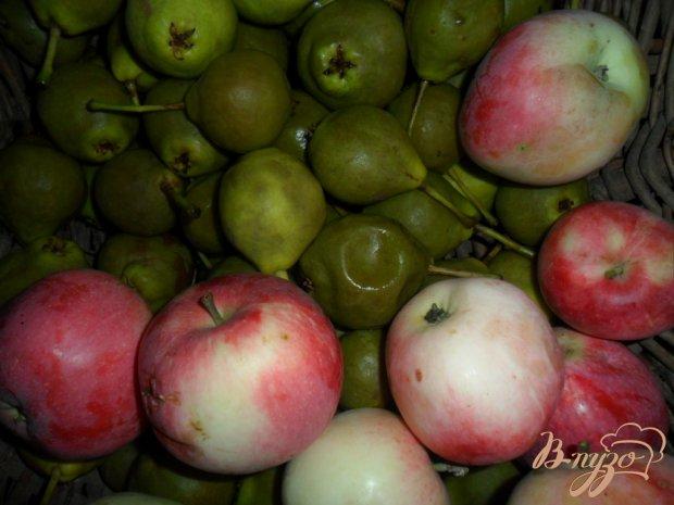 Грушово-яблочный компот на зиму