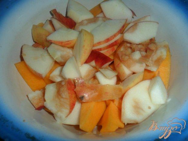 Детское меню: тыквенно-яблоное пюре