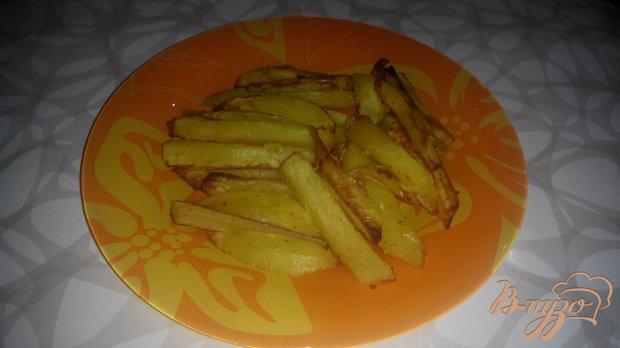 Ароматный картофель фри  духовке