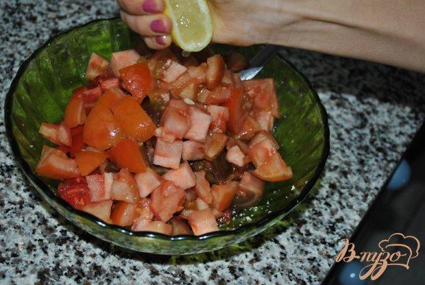 Салат из помидоров с хреном