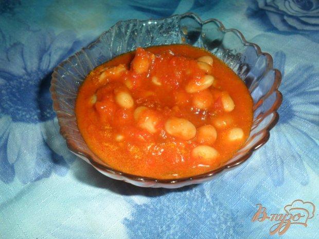 Фасоль на зиму в красном соусе