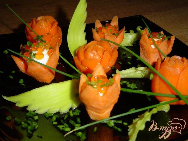 Закуска морковно-икорная