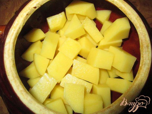 Жаркое с курицей и картофелем в горшочках