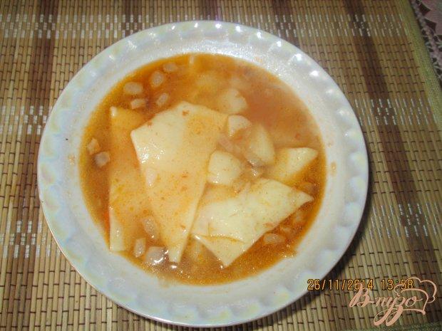 Суп с галушками без мяса