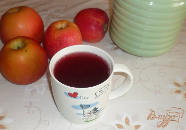 Яблочно-вишневый компот