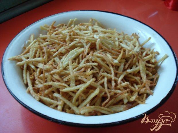 Картофель - соломка