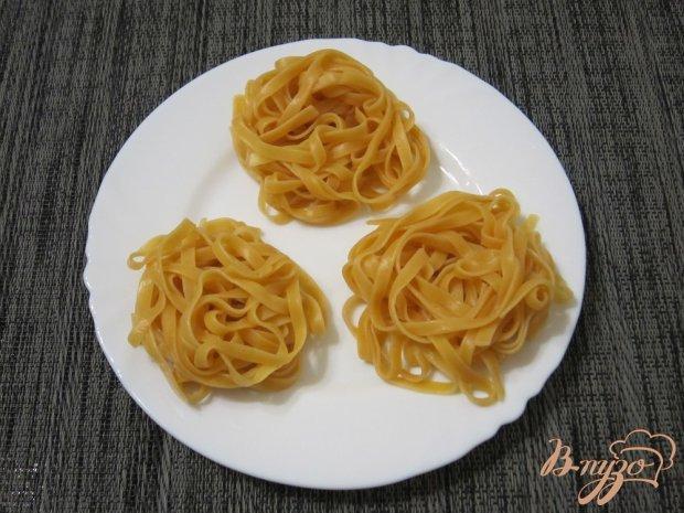 Тальятелле со шпинатом и сливочным сыром