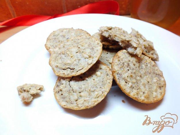 Рецепт Овсяное печенье с бананом