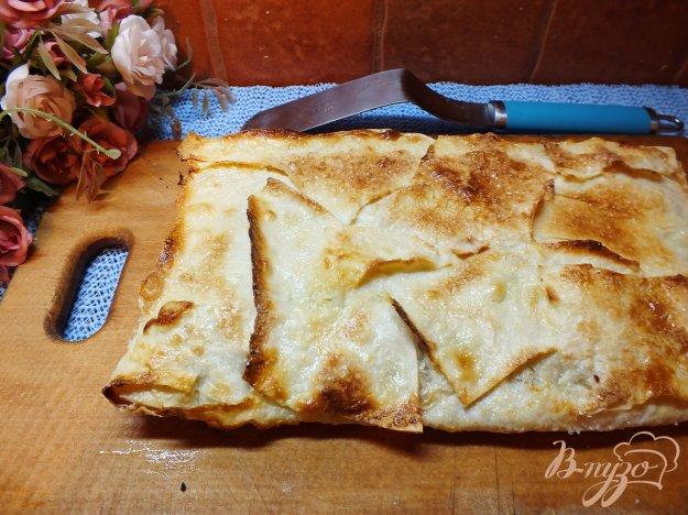 Рецепт Слойка с яблоком из лаваша