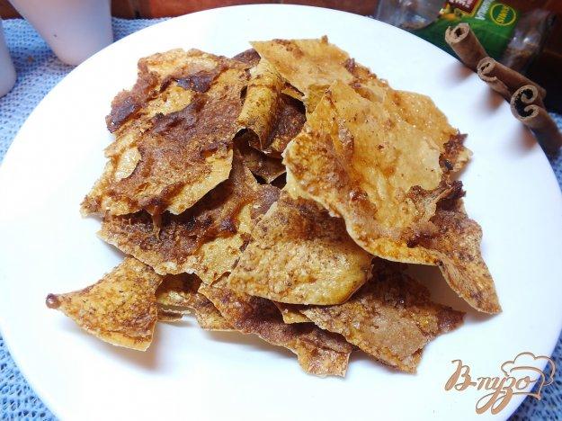 Рецепт Печенье хрустики из лаваша с корицей