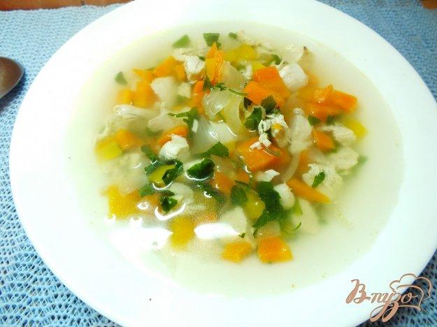 Рецепт Суп с печеным репчатым луком