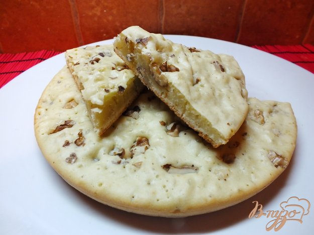 фото рецепта: Пирог соленый ореховый на растительном масле
