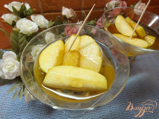 Рецепт Десерт из яблок вымоченных в роме