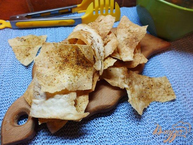 Рецепт Безвредные чипсы из лаваша