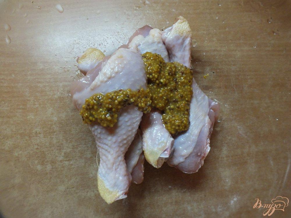 Фото приготовление рецепта: Курица во французской горчице шаг №2