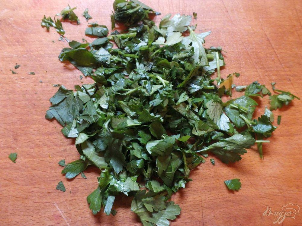 Фото приготовление рецепта: Суп с тыквой и пельменями шаг №4