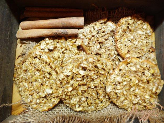 Рецепт Овсяное печенье без яиц и масла