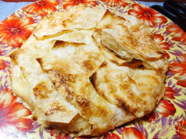 Рецепт Пирог из лаваша с творогом
