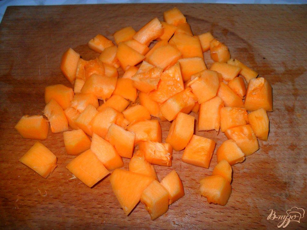 Фото приготовление рецепта: Тыква с яблоками на сковороде шаг №1