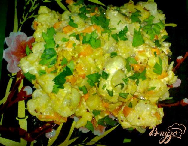 Рецепт Цветная капуста тушеная