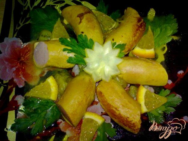 фото рецепта: Сосиски в фруктовом соусе