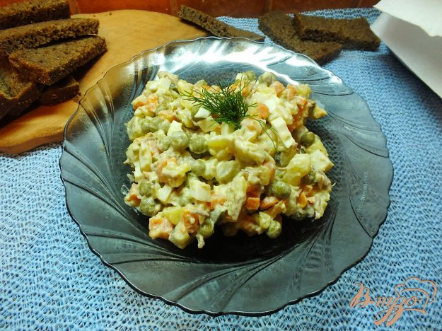 Рецепт Вегетарианское оливье