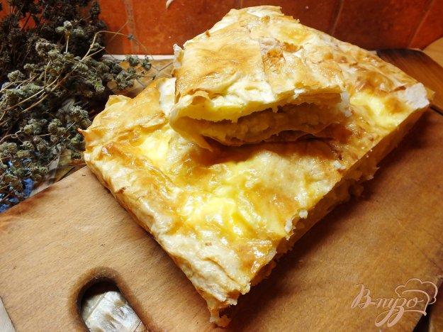 Рецепт Пирог с картофелем и луком