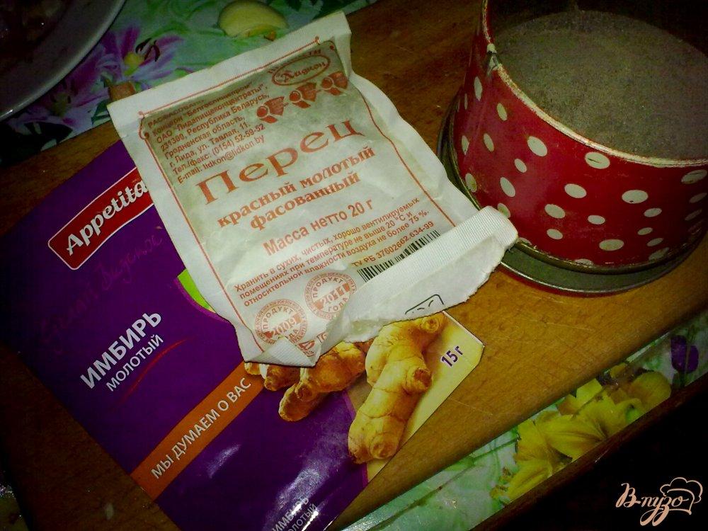 Фото приготовление рецепта: Пряный картофель с арахисом и кинзой шаг №5