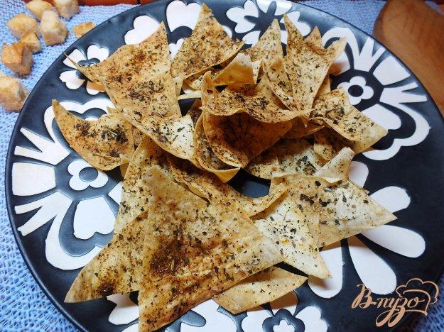 Рецепт Чипсы из лаваша с ароматом прованских трав