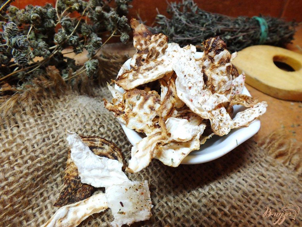 Фото приготовление рецепта: Печеная хрустящая репа с травами шаг №4