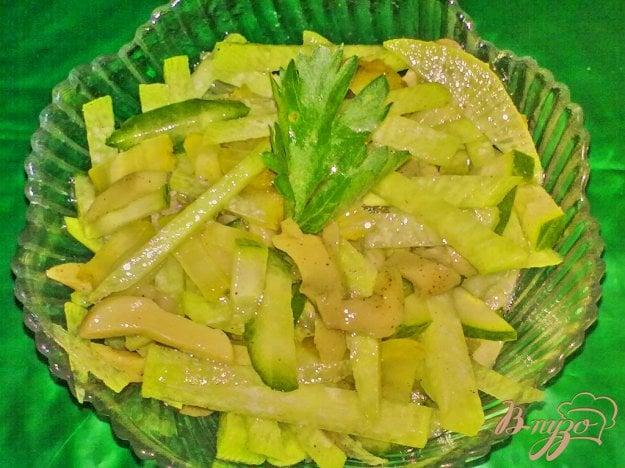 Рецепт Салат из редьки с грибами