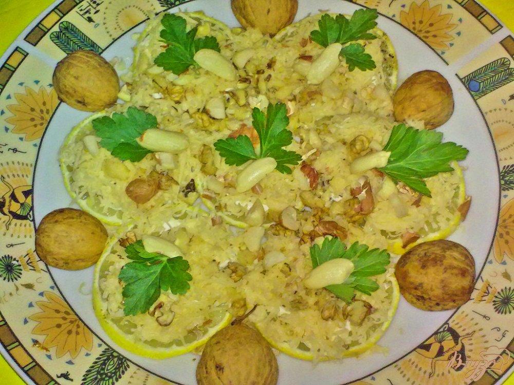 Фото приготовление рецепта: Закуска на лимоне шаг №6
