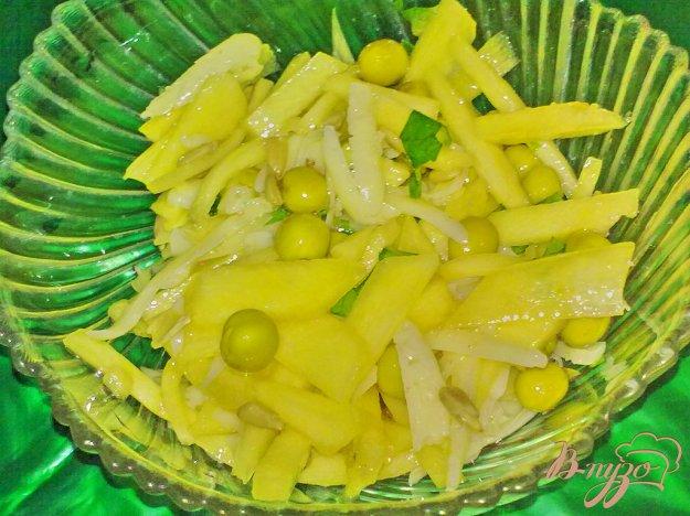 Рецепт Салат из кабачка с сыром