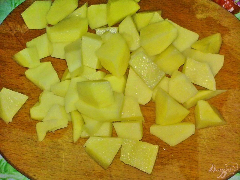 Фото приготовление рецепта: Суп овощной с грибами шаг №4