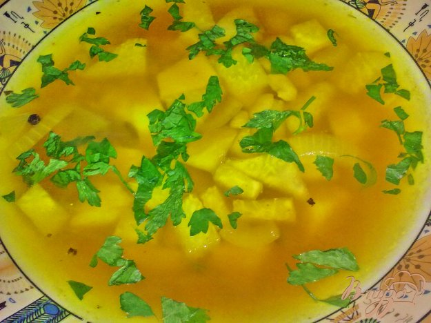 фото рецепта: Суп овощной с грибами