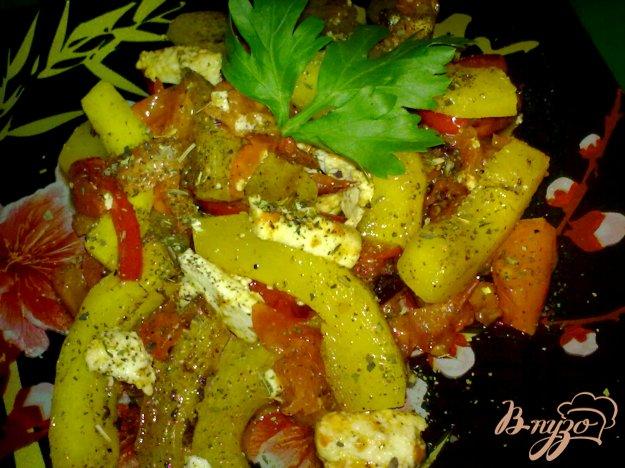 Рецепт Кабачки по-гречески