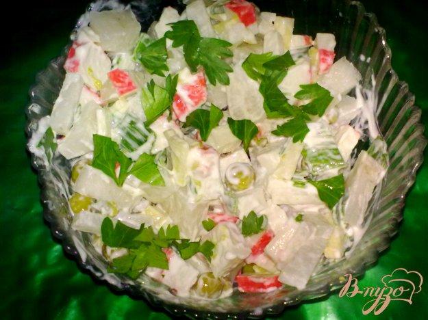 Рецепты салат с дайконом