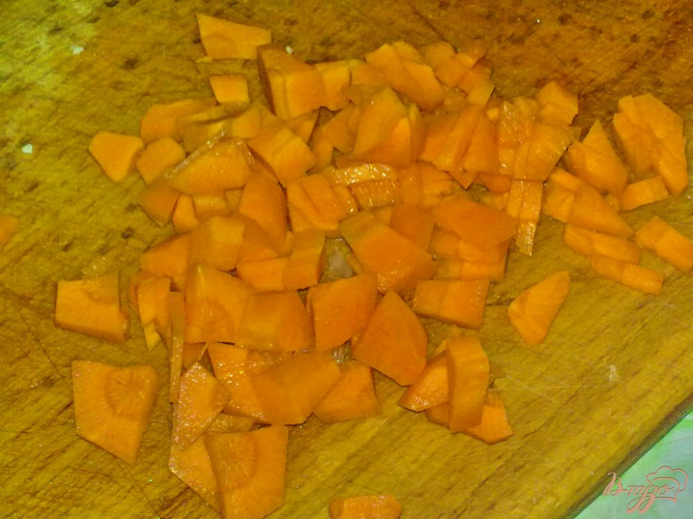 Фото приготовление рецепта: Суп с двумя видами капусты шаг №5