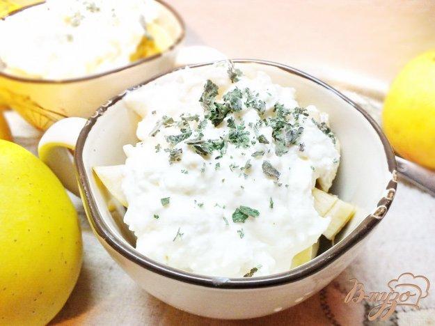 Рецепт Фруктовый салат с творожным кремом